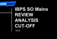 IBPS SO MAINS REVIEW ANALYSIS CUT-OFF IS PUBLISHED HERE