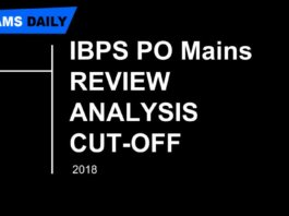 ibps po main review and analysis wrtitter