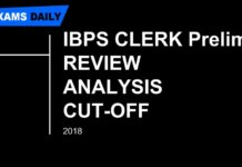 IBPS Clerk Prelims Exam Review & Analysis