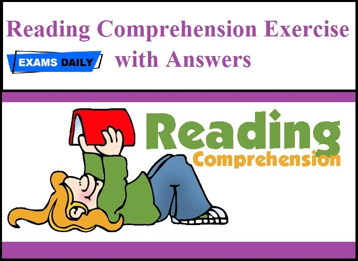 Reading Comprehension Exercise With Answers PDF Exams Daily