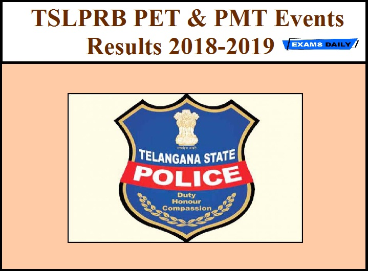 TSLPRB PET & PMT Result 2018-2019 Released | Exams Daily