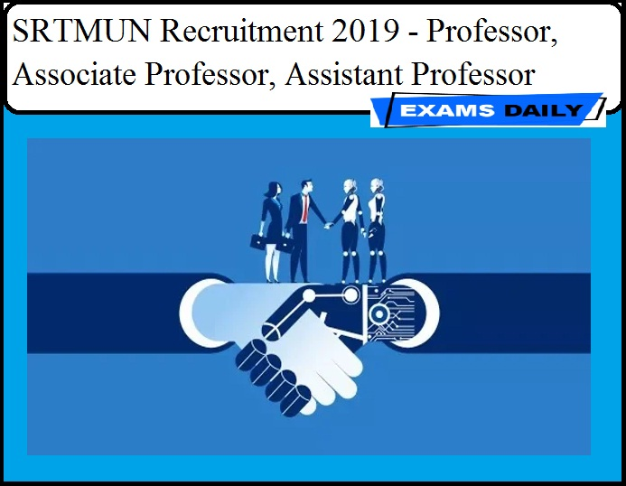 SRTMUN Recruitment 2019 - Professor, Associate Professor, Assistant Professor