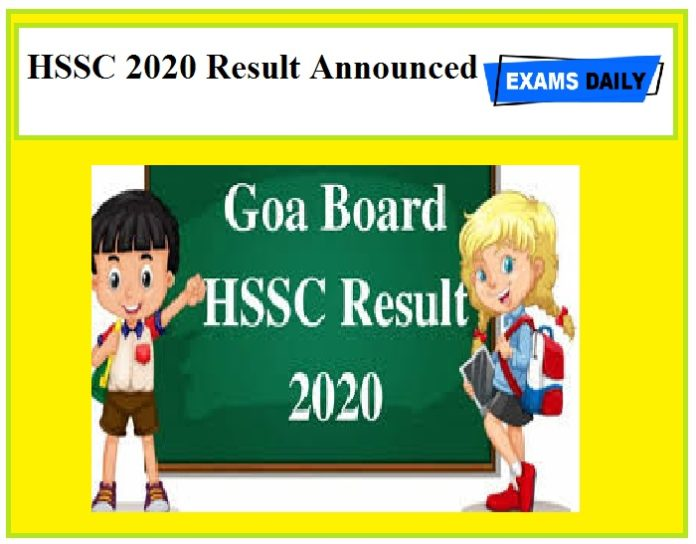HSSC 2020 Result Announced – Download Here