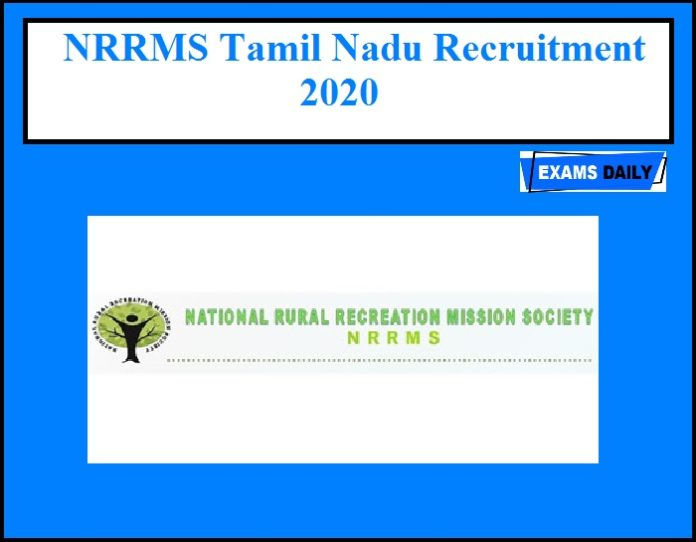 NRRMS Recruitment 2020 OUT – 1993 Vacancies