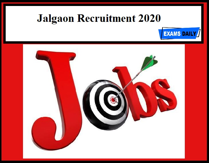 Jalgaon Recruitment 2020 Out - Security Guard Vacancy