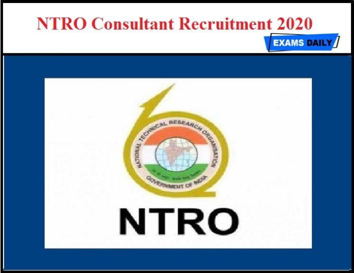NTRO Consultant Recruitment 2020 OUT