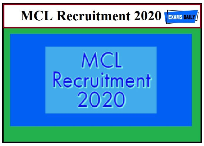 MCL Recruitment 2020 Out – Apply For Advisor(R&R)PostMCL Recruitment 2020 Out – Apply For Advisor(R&R)Post