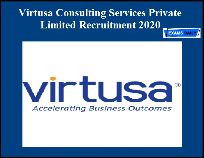 Virtusa Consulting Services Private Limited Recruitment 2020