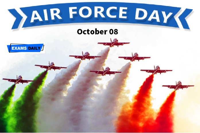 Air Force Day is celebrated on October 08