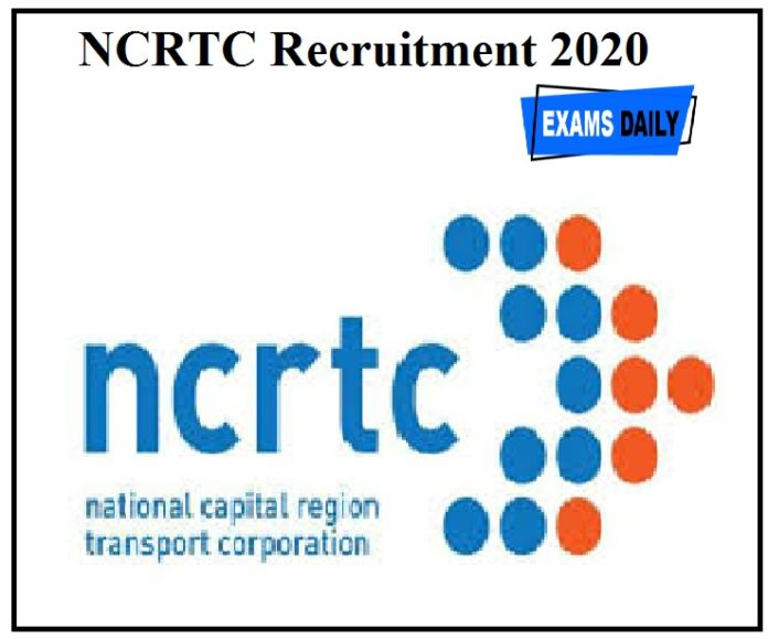 NCRTC Recruitment 2020 Out – Apply For Manager Posts