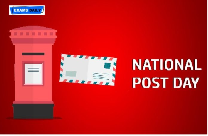 National Postal Day is observed on October 10
