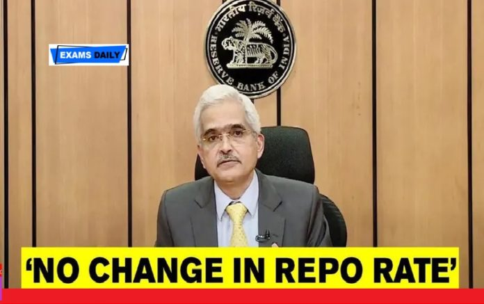 RBI Monetary Policy Committee Meeting – No Change in Repo Rate