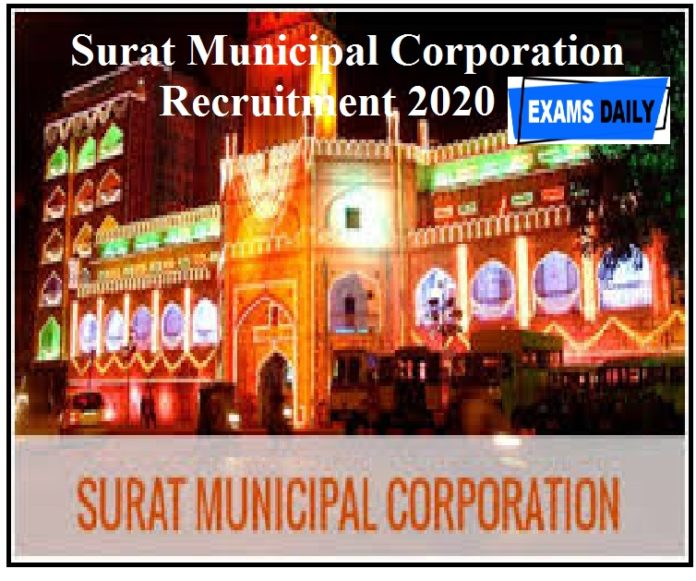 Surat Municipal Corporation Recruitment 2020 out – 170+Vacancies &Apply For Staff Nurse & Other Posts