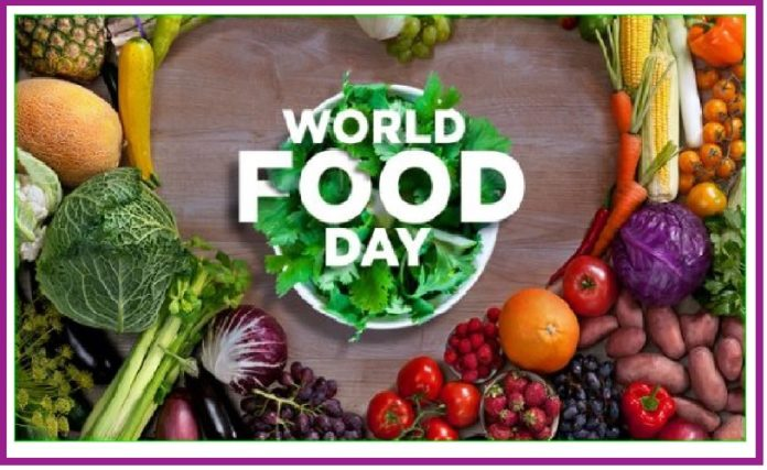 World Food Day is observed on October 16