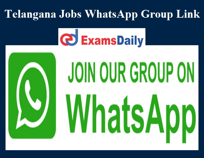 telangana jobs whatsapp group link