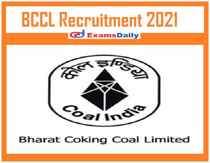 BCCL Recruitment 2021 Out – Apply for Advisor Vacancy Just Now Released!!!