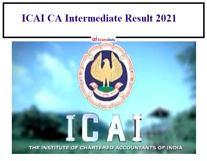 ICAI CA Final Result Jan 2021