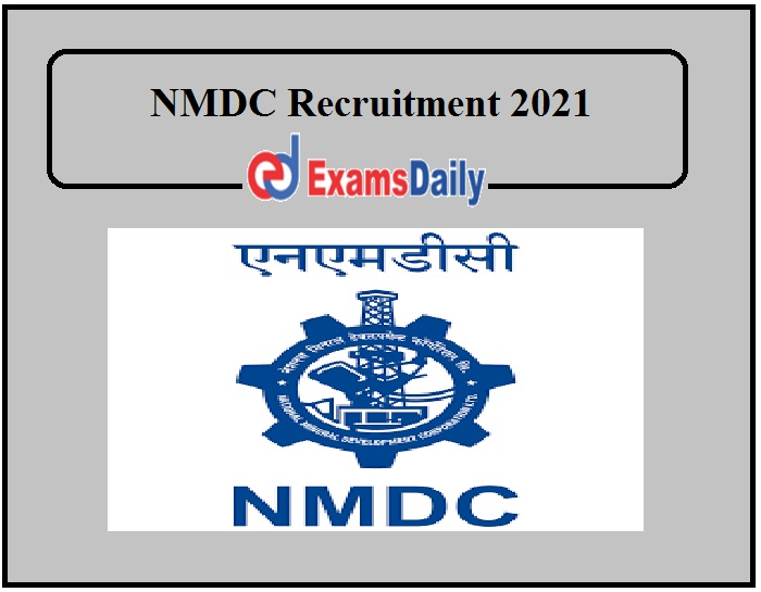 NMDC Recruitment 2021 (1)
