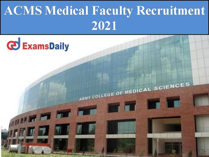 acms medical faculty