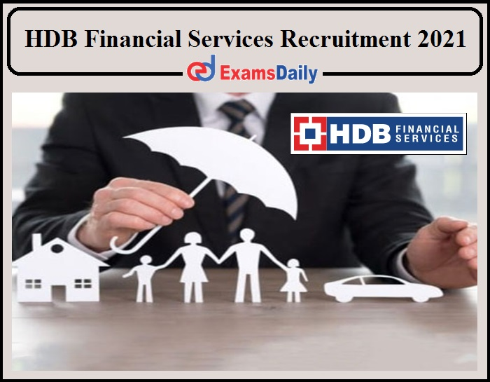 Branch Manager Job Vacancy 2021 in HDB Financial Services- Apply Online Now!!!