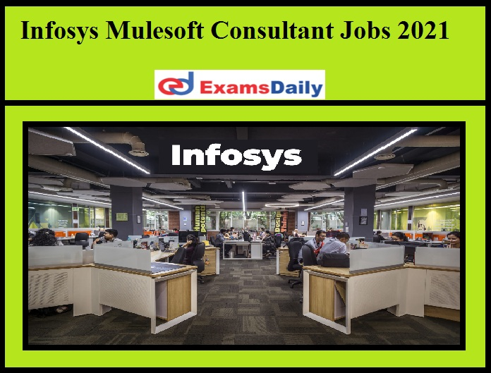 Infosys Mulesoft Consultant Jobs 2021