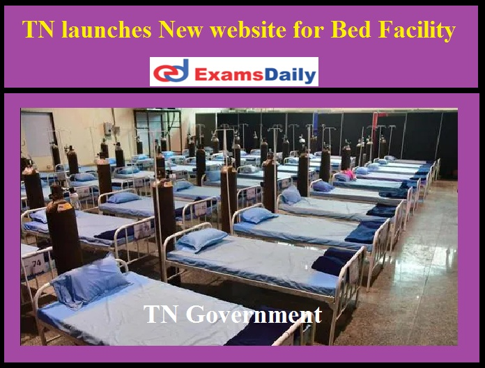 TN launches new website for Bed facility to corona patients
