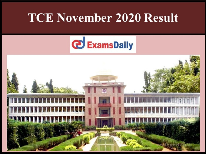 tce 2020 result