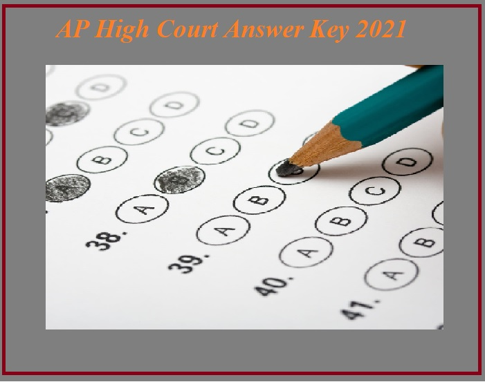 AP High Court Question Paper With Answer Key 2021